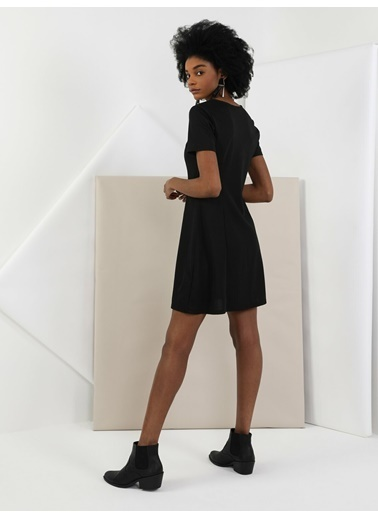 Colin's Colin'S Regular Fit Kısa Kollu Kolkadın Kadın Elbise Siyah